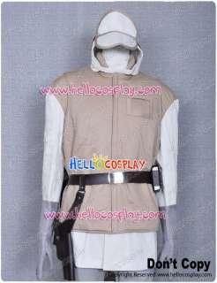 Star Wars ESB Luke Hoth Rebel Soldier Trooper Uniform Costume Jacket