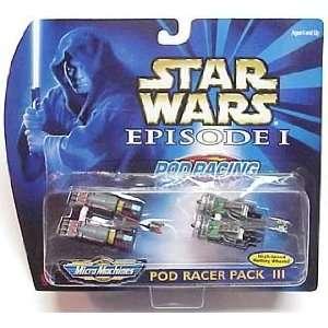 Star Wars Episode 1 Micro Machines Pod Racer Pack III Dud