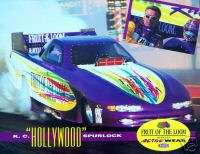 NHRA DRAG RACING 1995 SPURLOCK FUNNY CAR HANDOUT PHOTO