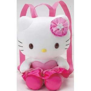 Hello Kitty   Plush Backpack Pink Tutu Toys & Games