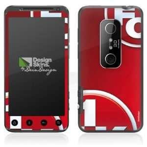 Design Skins for HTC EVO 3D   1. FCK Logo Design Folie Electronics