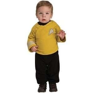 Star Trek   Captain Kirk Child Costume Size 1 2 Toddler