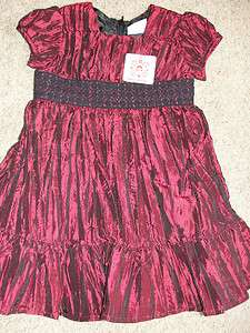 NWT Hanna Andersson Taffeta Special Occasion Christmas Party Dress 90