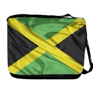 Rikki KnightTM Jamaica Flag Messenger Bag   Book Bag