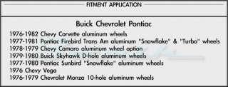 Chevy Corvette Camaro Vega Monza Factory Wheel Lug Nuts