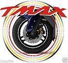 TMAX T MAX Kit di adesivi per cerchi x tutti i modelli
