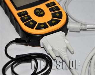 Portable Hand Held Single Channel ECG EKG machine LCD