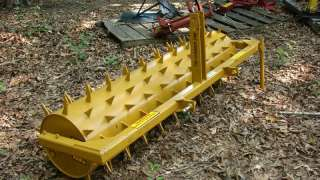 point hitch Category 1 tractor AERATOR W/3 teeth