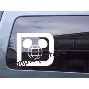 Mickey Mouse Ears Symbol Car Wall Vinyl Decal Sticker  SMMES05056