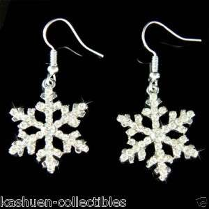 Swarovski Crystal Rhinestone Snow Flake Holiday ~SNOWFLAKE~ XMAS