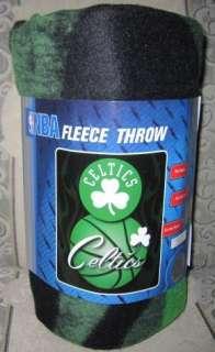 New Boston Celtics NBA Official Team Basketball Fleece Throw Blanket