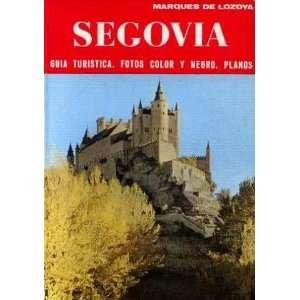Segovia  guia turistica, fotos color y negro, planos