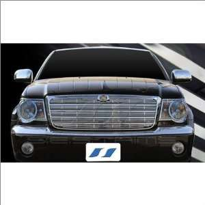 SES Trims Chrome Billet Upper Grille 07 09 Chrysler Aspen Automotive