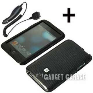Eno Skin Cover Case +Car Charger For iPod Touch 2 3 Gen
