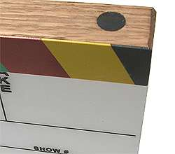 Engraved Film Slate, Movie Clapper Board made in USA