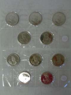 10 Elvis Presley $5 Coins, Marshall Islands C226