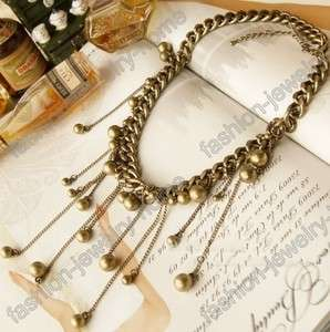 Retro Bronze Style Chain Chokers Charming Necklace New