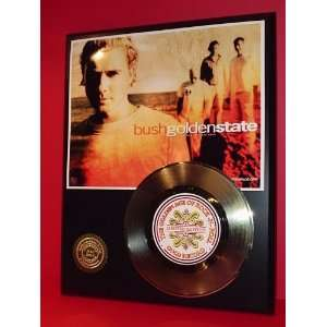 Bush 24kt Gold Record LTD Edition Display ***FREE PRIORITY