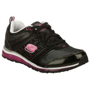 SKECHERS REVV AIR Womens Shoes NEW *BLACK HOT PINK 6 11