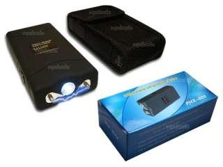 New 6.8 Million Volt Mini Stun Gun With LED Flashlight (Rechargeable)