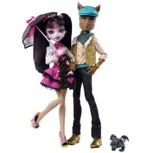 Monster High Draculaura and Clawd Wolf Twin Pack Toys & Games