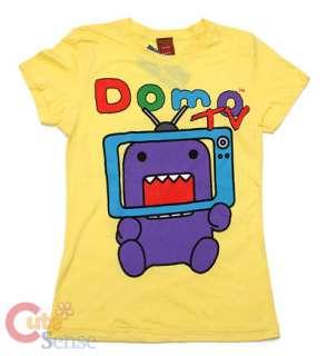 Domo Kun On TV Girl T shirts Fifth Sun 1