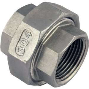 Female x 2 Female Stainless Steel NPT Pipe Fitting 304 SUS304 SS304