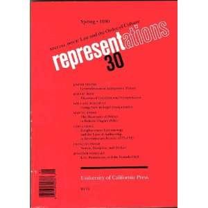 Svetlana & Stephen Greenblatt et al eds.; Robert Post ed.; Joseph