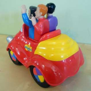 The Wiggles Wiggle And Giggle Big Red Car Sings Push Top Musical Toy