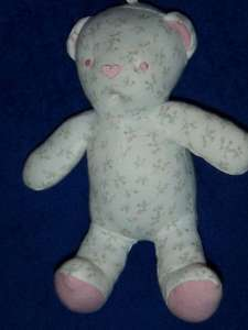 Amy Coe Limited Edition Pink Flowers Floral Teddy Bear