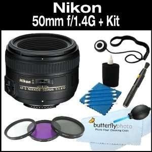Nikon 50mm f/1.4G SIC SW Prime Nikkor Lens for Nikon