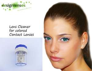 Lens Cleaner for colored contact lenses