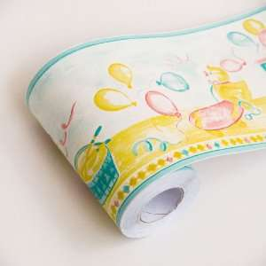 Childrens Wallpaper on Childrens Paradise Self Adhesive Wallpaper Borders Home