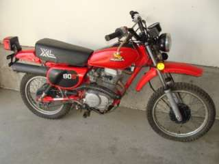1982 Honda XL 80 Front Wheel Axle XL80 XR