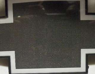 Chevy Truck Van Grille Emblem Bow Tie Black Silver NEW OEM