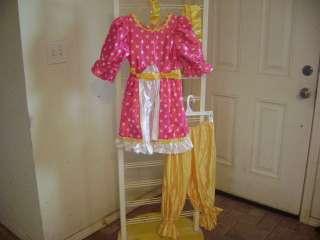 PINK & YELLOW~BALLET DANCE COSTUME~Girls Medium~CURTAIN CALL