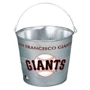 Francisco Giants Galvanized Pail 5 Quart   Ice Buckets