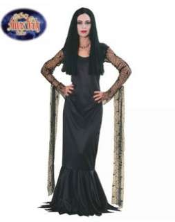 Addams Family Morticia Adult Costume: Clothing