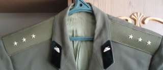 Rare Russian soviet Army officer Uniform military jacket suit badge