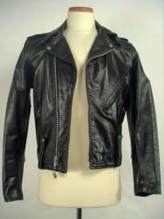 Vintage HARLEY DAVIDSON Motorcycle Leather Jacket 36R