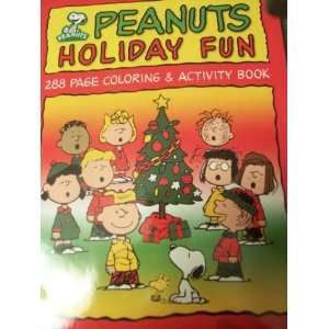 Peanuts Holiday Fun 288 Page Coloring & Activity Book Toys & Games