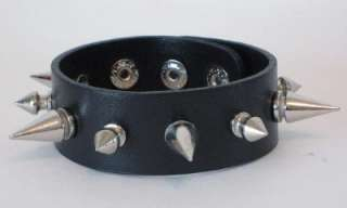 NEW SPIKED WRISTBAND GOTHIC BURLESQUE PUNK DEATHROCK