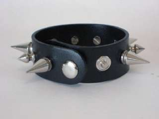NEW SPIKED WRISTBAND GOTHIC BURLESQUE PUNK DEATHROCK |