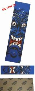 MOB GRIP Santa Cruz ROB ROSKOPP Blue FACE Grip Tape