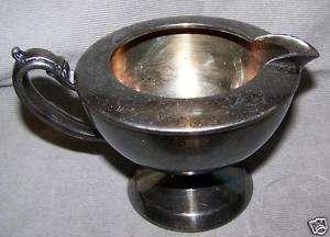 Vintage ONEIDA WM A Rogers CREAMER Silverplate