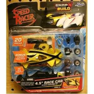 Racer X Speed Racer Snap N Build 4.5 Race Car Toys & Games