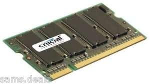 256MB 256 Meg RAM Memory upgrade for Dell Latitude D600