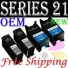 Genuine OEM Dell Series 21 Y498D Black Ink Cartridge