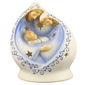 Holy Family Nativity Christmas Votive Candle Holder