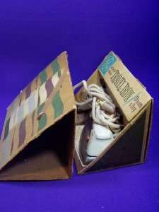 GE F39 Vintage World Wide Travel Iron w/ Triangle Box